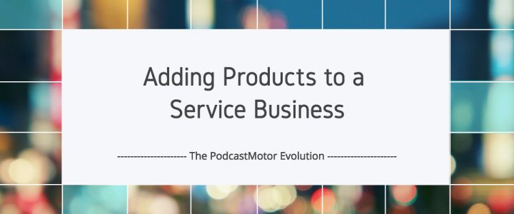 Adding Products to a Service Business